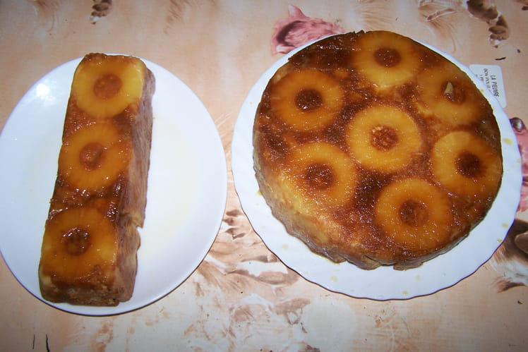 Gâteau ananas
