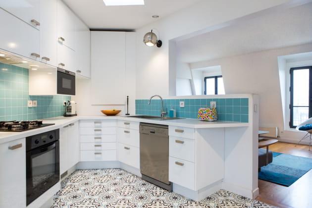 pour donner du caract re une cuisine. Black Bedroom Furniture Sets. Home Design Ideas