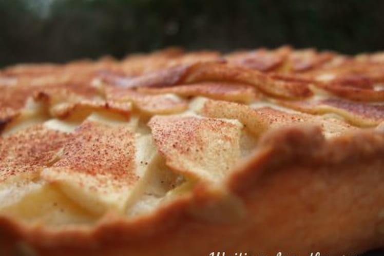 Tarte pommes cannelle et fève tonka