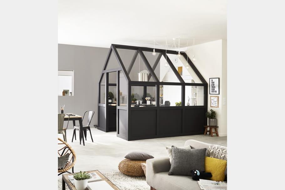 r aliser sa cuisine sur mesure avec leroy merlin. Black Bedroom Furniture Sets. Home Design Ideas