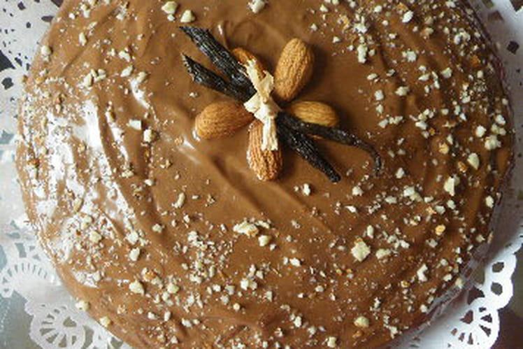 Gâteau amande pralinoise