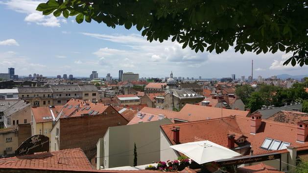 Toits de Zagreb