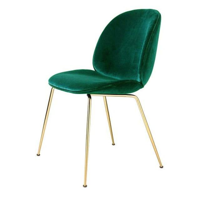 Chaise en velours Gamfratesi par The Conran Shop