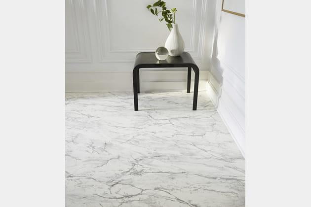 Sol vinyle Alice aspect marbre Saint Maclou