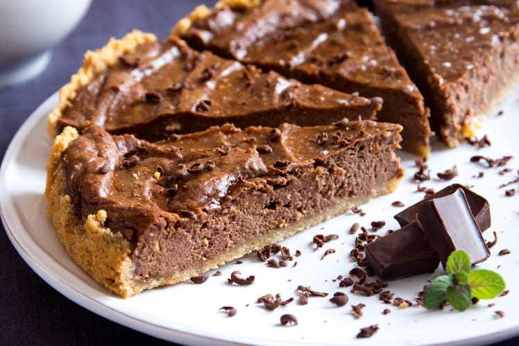Tarte au chocolat de grand-mère