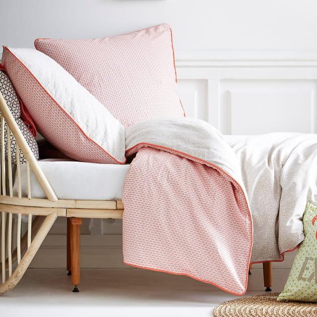 La parure de lit réversible