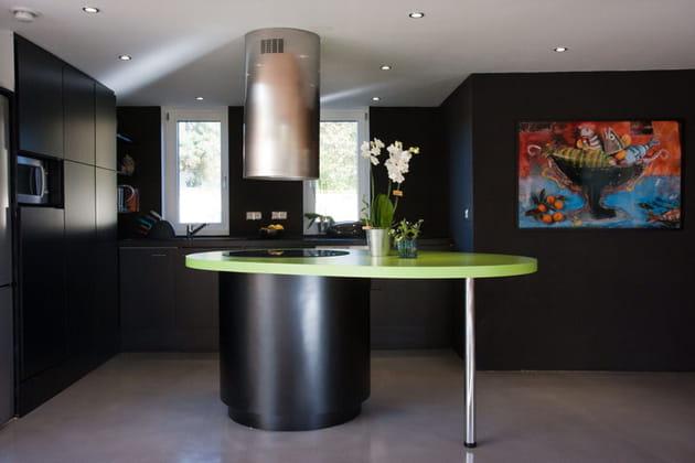 Une cuisine comme invisible