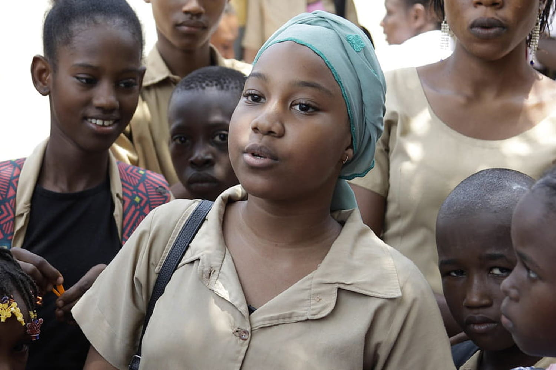 Aïssatou, 12ans, milite contre les mariages forcés en Guinée