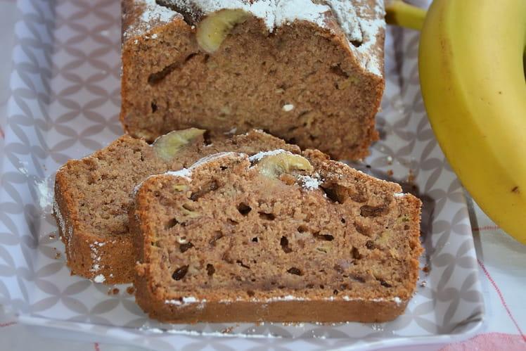 Banana bread miel et cannelle