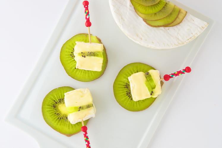 Carpaccio de kiwi frais au Camembert Président