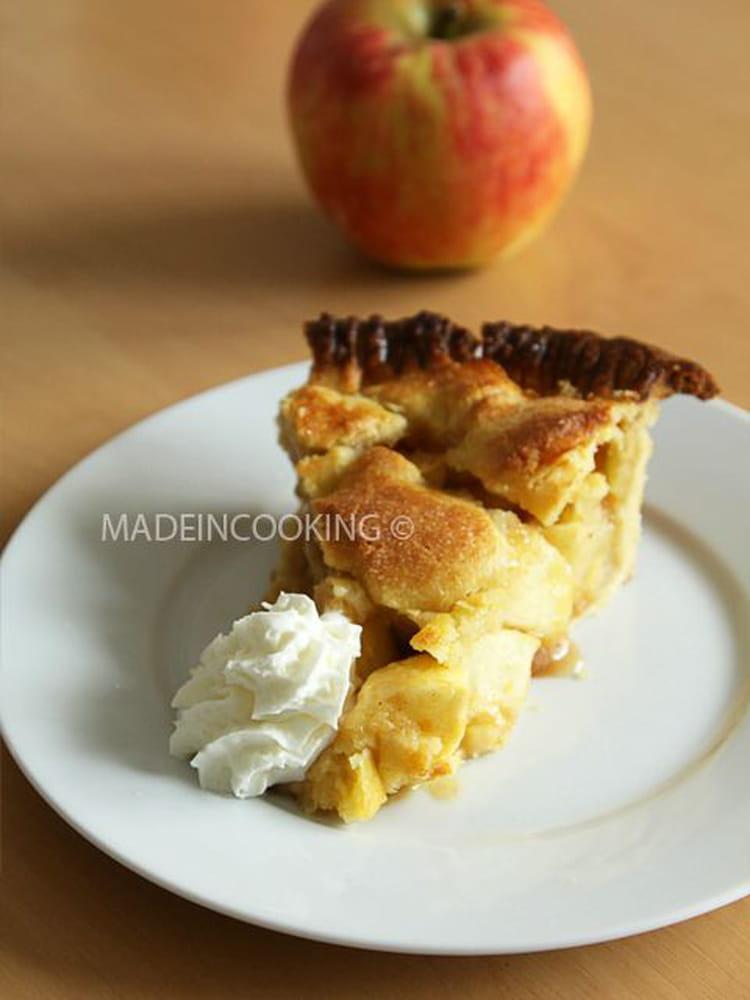 recette de tarte aux pommes fa on am ricaine la recette. Black Bedroom Furniture Sets. Home Design Ideas