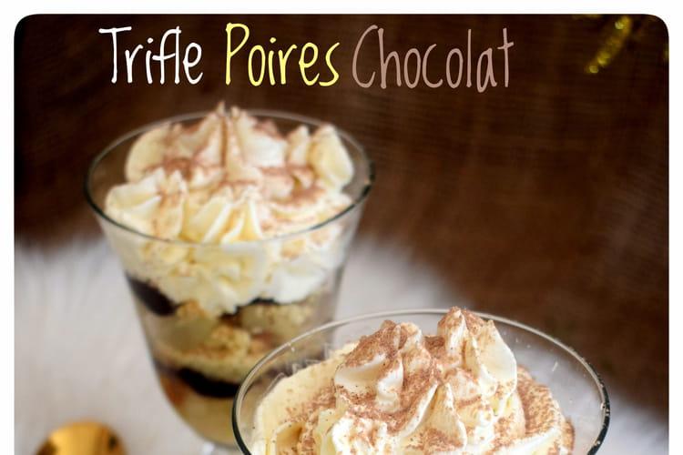 Trifle poires chocolat