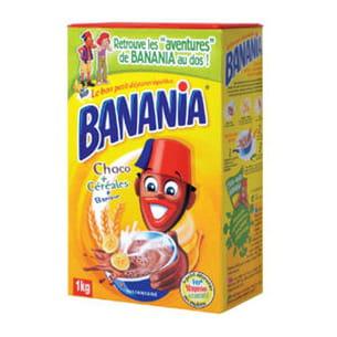 boite de banania en poudre