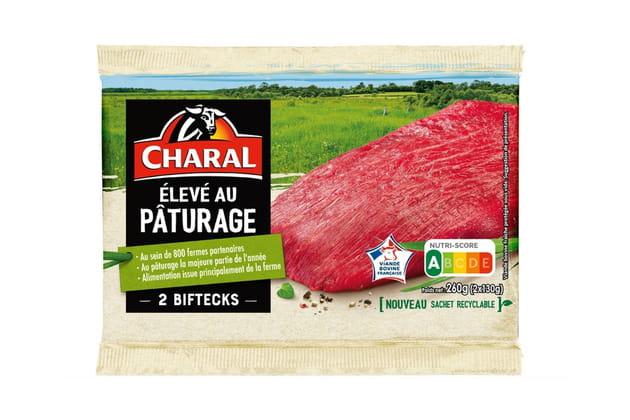 "La gamme ""Elevé en pâturage"" de Charal"
