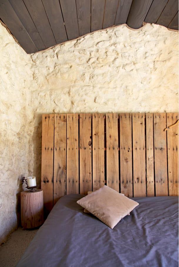 Une palette pour t te de lit relooker sa chambre avec for Lit 50 euros