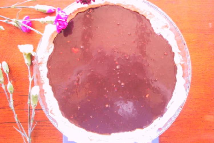 Tarte au chocolat 100% maison