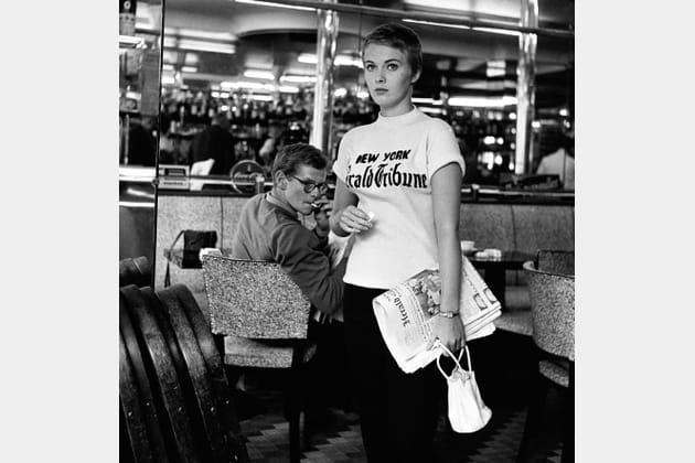 "Jean Seberg 1960- ""A bout de souffle"" de JL.Godard"