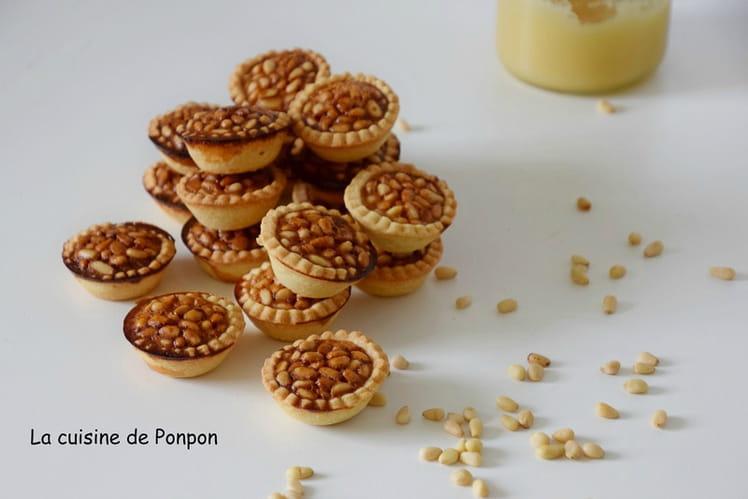 Mini tartelettes aux pignons ou Pignoli