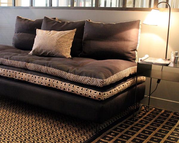 banquette mon prince caravane. Black Bedroom Furniture Sets. Home Design Ideas