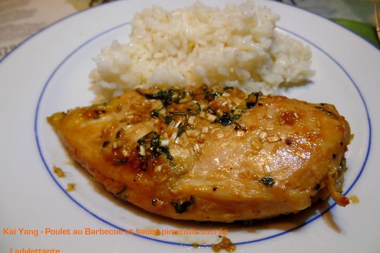 Poulet au Barbecue et sauce pimentée sucrée - Kai Yang