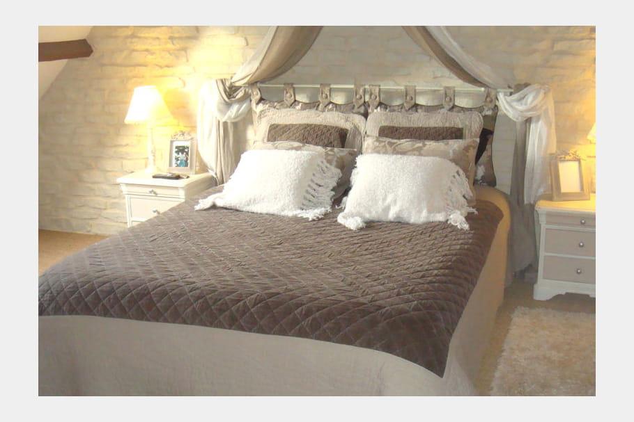 la chambre de coroy boh me des chambres romantiques pour calins et plus journal des femmes. Black Bedroom Furniture Sets. Home Design Ideas