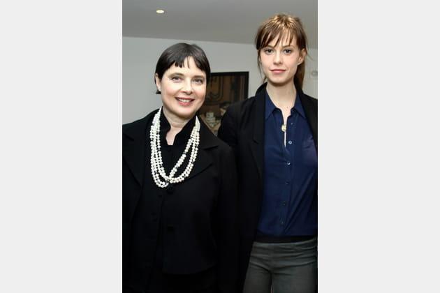 Isabella Rossellini et sa fille Elettra Wiederman