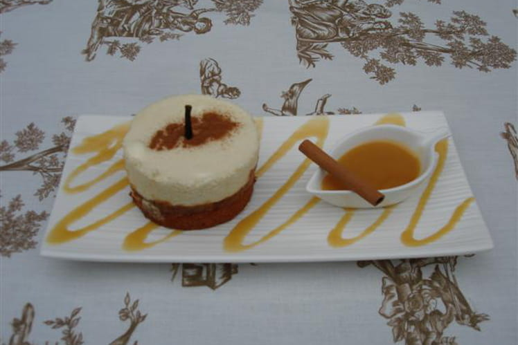 Douceur de Normandie et son caramel au beurre salé