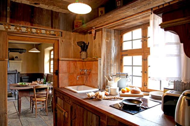 Une cuisine rustique chic
