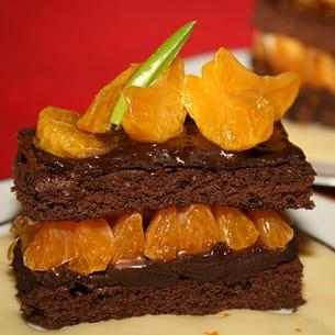 gâteau chocolat clémentines corses
