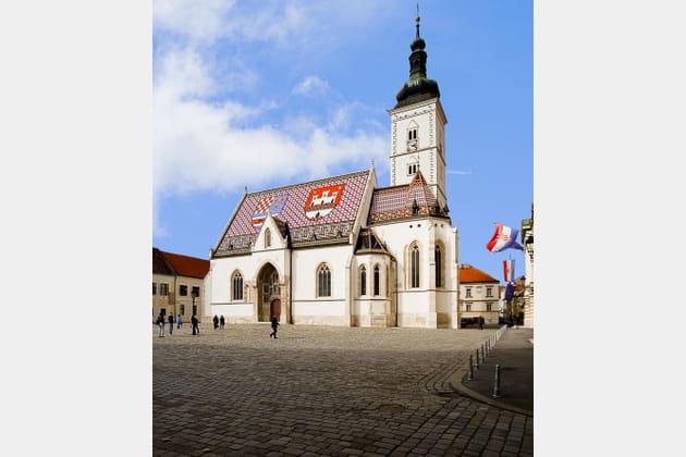 L'Église Saint-Marc de Zagreb