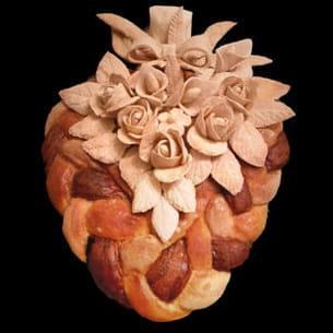 pain décoré