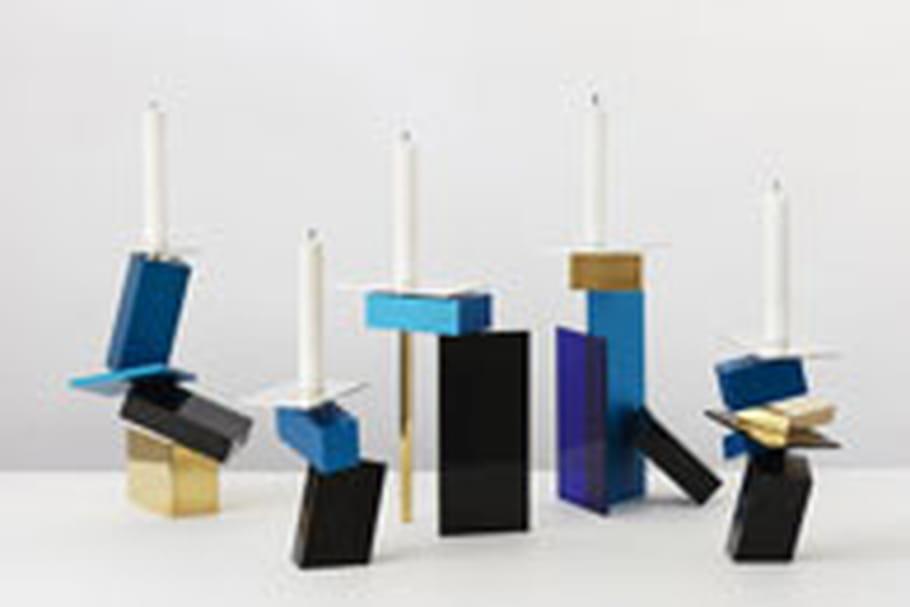 Exposition de centres de table créés par des designers