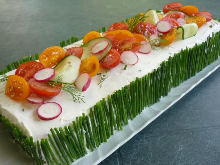 Gateau Anglais Cake Avec Fromage De Chevre