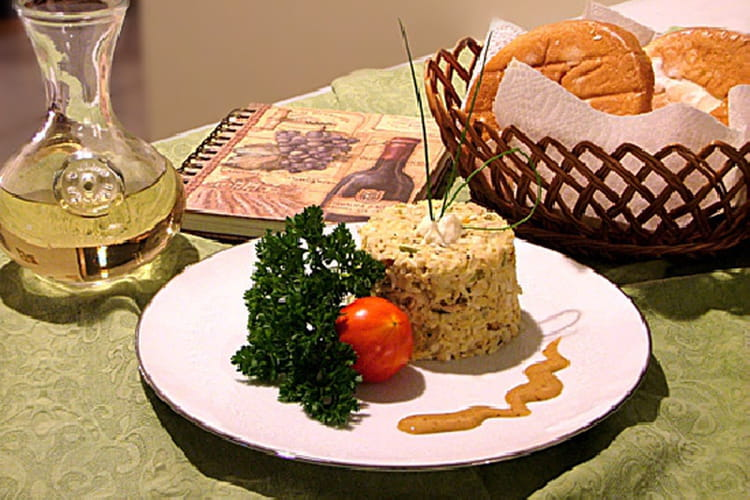 Salade de riz au thon
