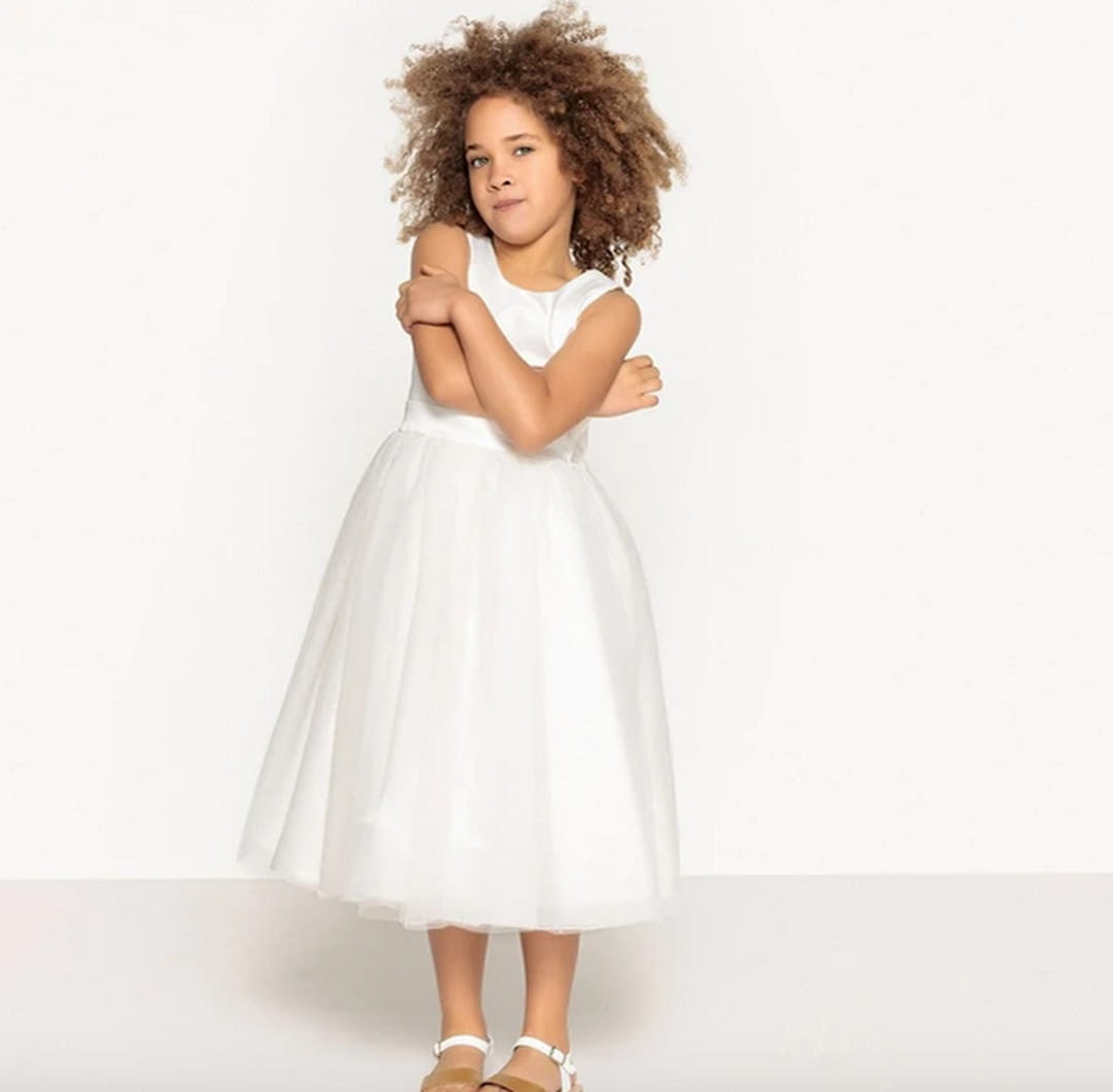 robe-satin-tulle-la-redoute-collections
