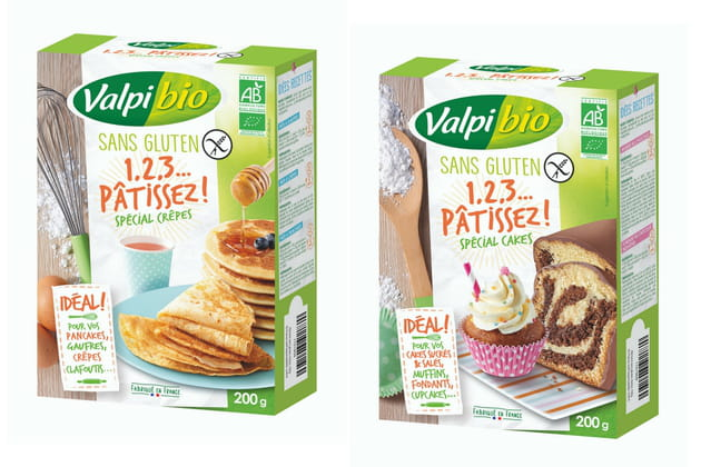 Les préparations à pâtisserie Valpibio