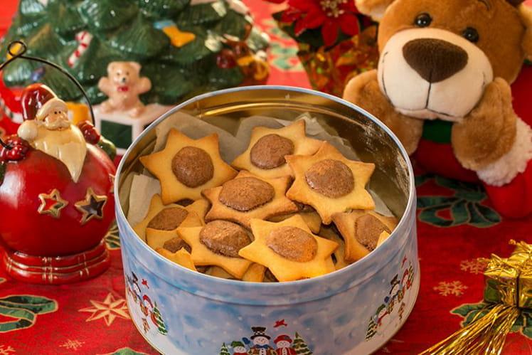 Biscuits Étoiles de Noël soufflées
