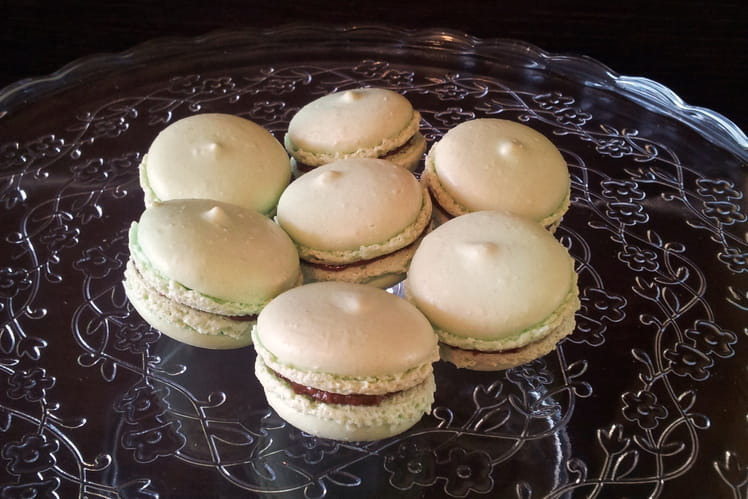recette de macarons figue et foie gras la recette. Black Bedroom Furniture Sets. Home Design Ideas