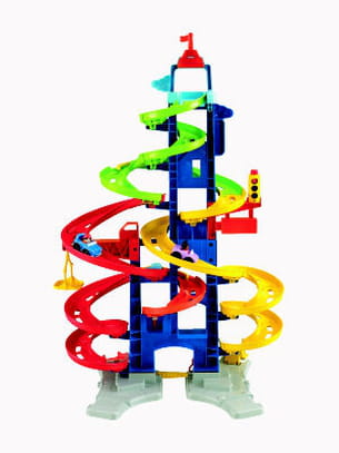 la tour des spirales de fisher price
