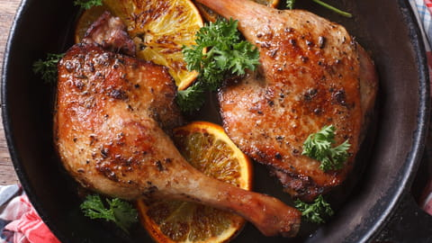 Comment cuisiner canard à l'orange