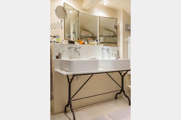 Une double vasque DIY