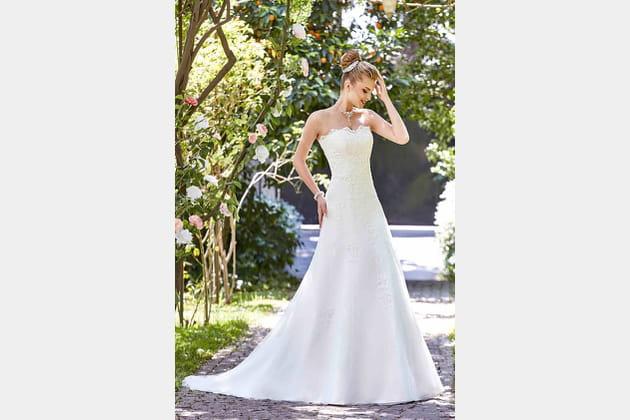 Robe de mariée Iva de Point Mariage