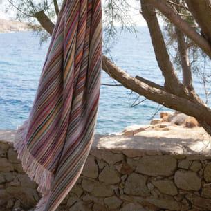 serviette de plage iris de vivaraise