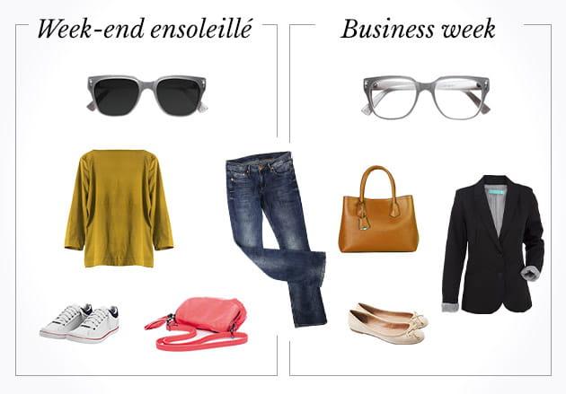 Week end ensoleillé VS business week