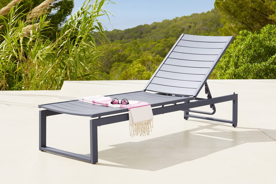 Bain de soleil hyba chez carrefour parenth se for Chaise longue de jardin carrefour