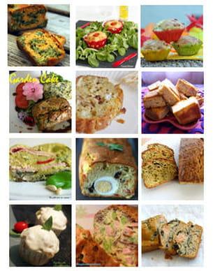 défi des bloggeurs - cake et muffin salés