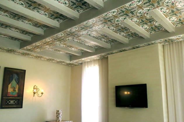 Les plafonds peints à la main