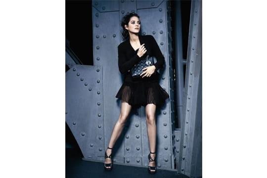 Marion Cotillard dans la nouvelle campagne Dior