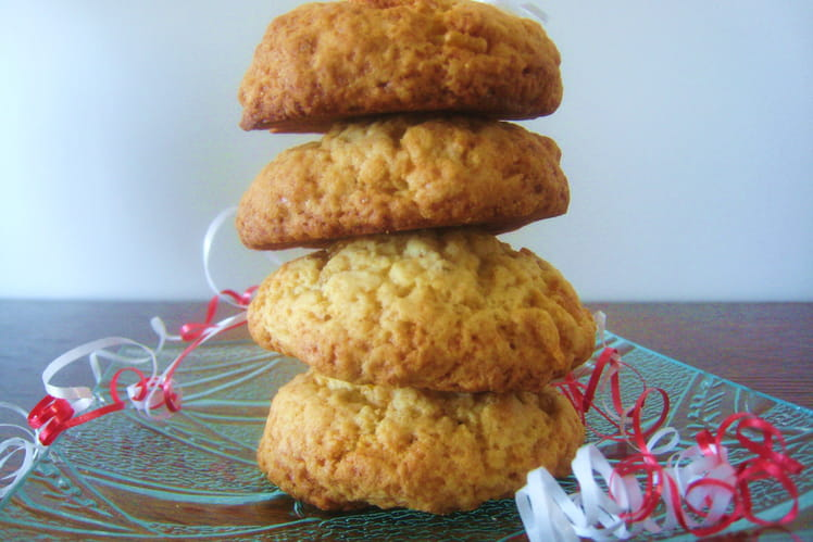 Cookies aux écorces d'orange