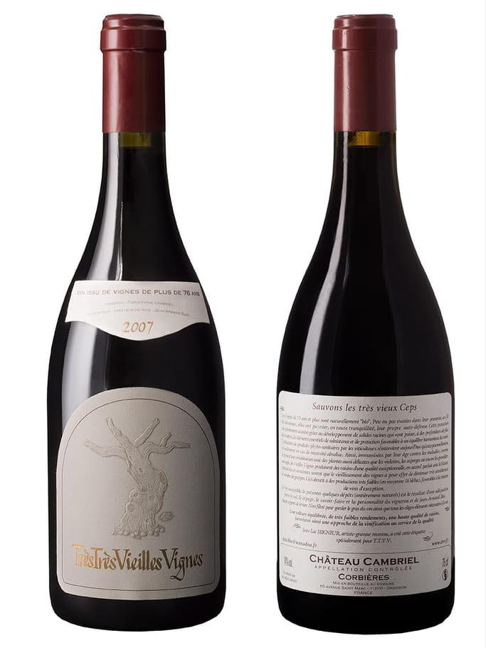 Vin Carignan 1920 de Très Très Vieilles Vignes